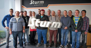 Company tour at Sturm Gruppe