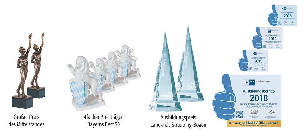 Auszeichnungen Sturm-Gruppe