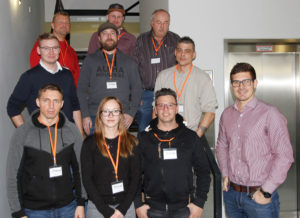 Students from the Eckert-Schulen were given practical insight