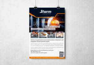 Plakat Sturm-Gruppe